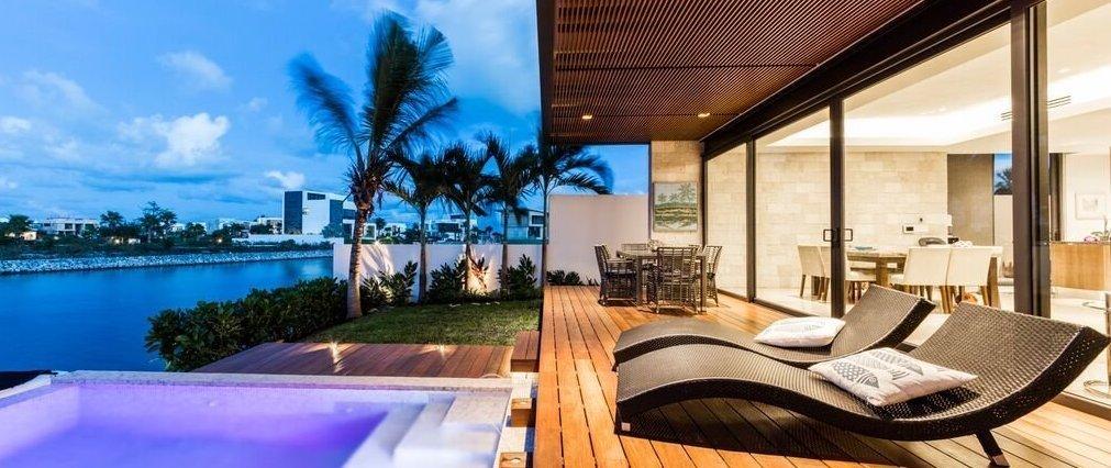 Casas en venta y renta en cancun for Renta casa minimalista cancun